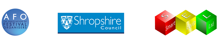 Festival sponsors: AFO, Shropshire Council, SEL.